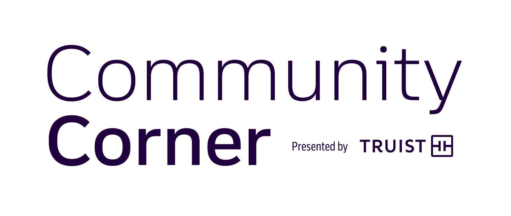 Logo - Community Corner presented by Truist