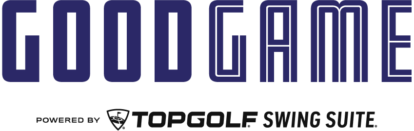 Logo - Good Game powered by Topgolf Swing Suite